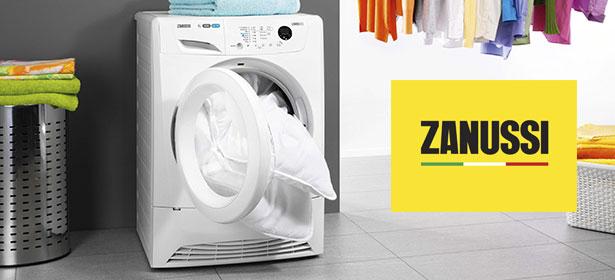 نمایندگی تعمیر ماشین لباسشویی زانوسی zanussi