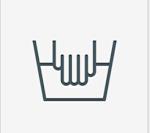 معنی و مفهوم اشکال و شکل های روی تایمر ماشین لباسشویی مدل