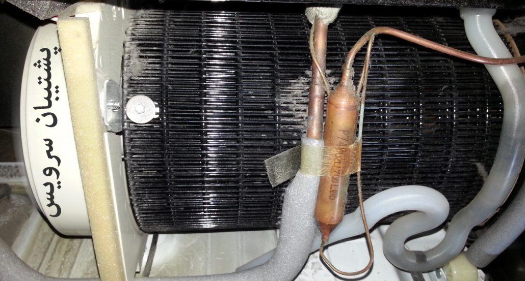 طریقه تمیز کردن کندانسور یخچال فریزر و ساید بای ساید