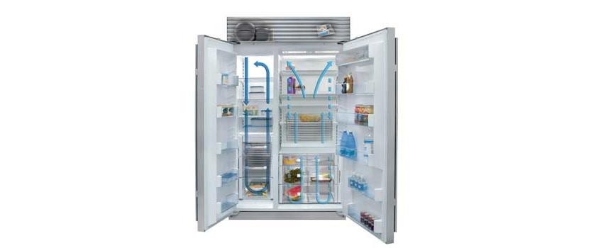 سرمایش یخچال فریزر