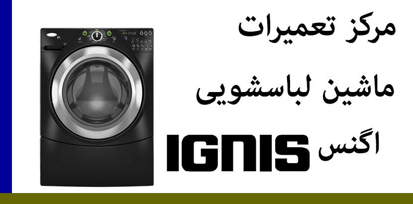 نمایندگی تعمیرات ماشین لباسشویی اگنس ignes