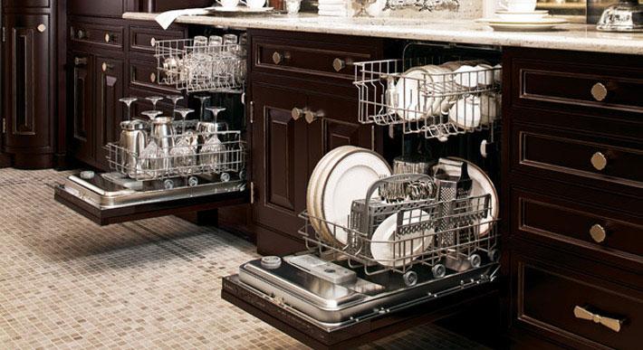 طریقه چیدن ظروف در ماشین ظرفشویی