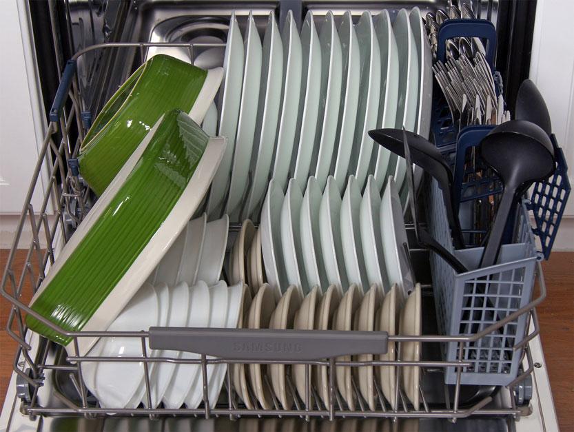 چیدن صحیح ظرف ها در داخل ماشین ظرفشویی