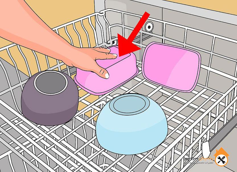 چگونه ظروف پلاستیکی را در ماشین ظرفشویی قرار دهیم