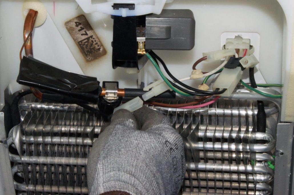 آموزش تعمیر سیستم دیفراست یخچال ضدبرفک