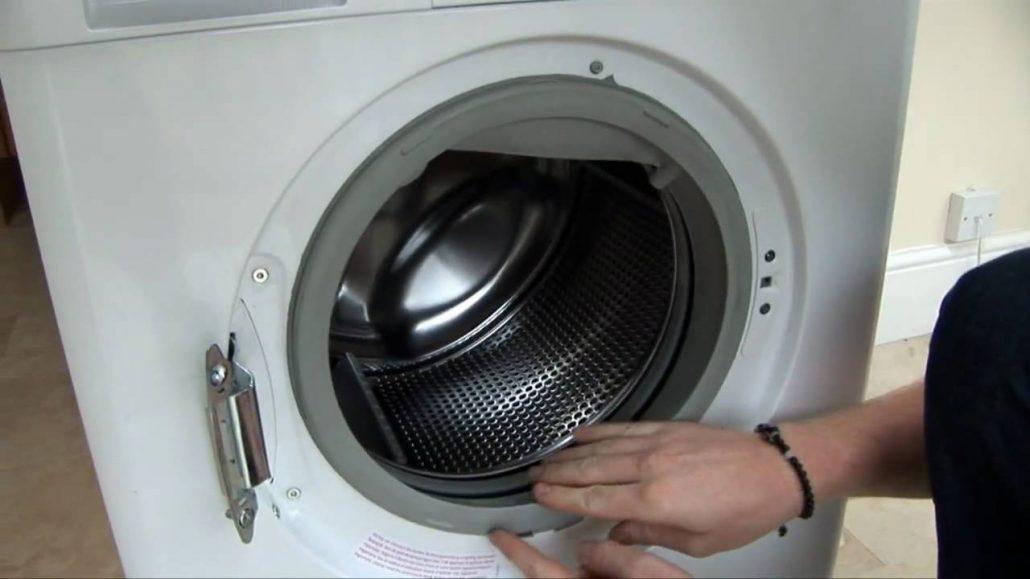 آموزش تعویض لاستیک درب ماشین لباسشویی