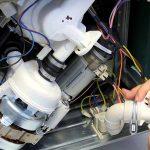 آموزش تعمیر ماشین ظرفشویی – تعویض موتور شستشو
