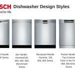 مروری بر انواع ماشین ظرفشویی بوش