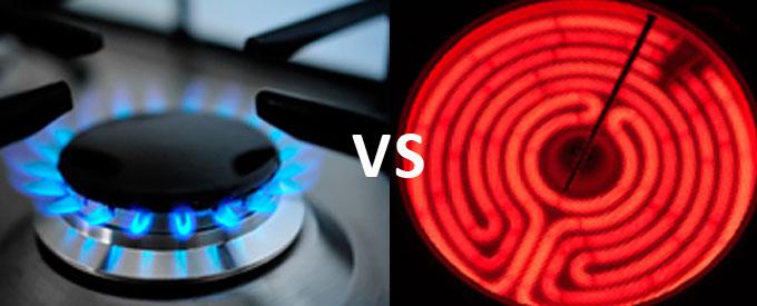 اجاق گازی یا برقی
