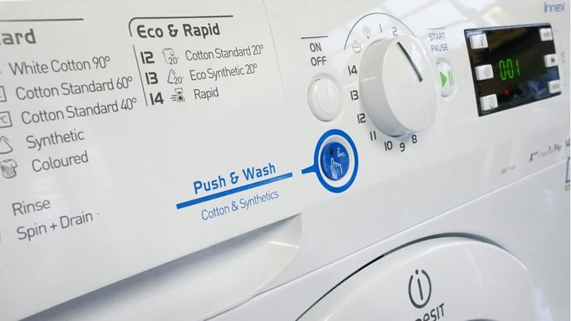 ماشین لباسشویی و الیاف مصنوعی