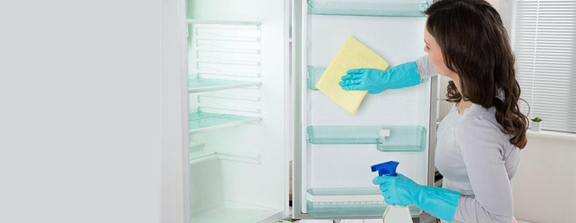 طریقه رفع کپک از لوازم خانگی لباسشویی ظرفشویی و یخچال