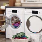 علت جمع شدن آب در ماشین لباسشویی خاموش