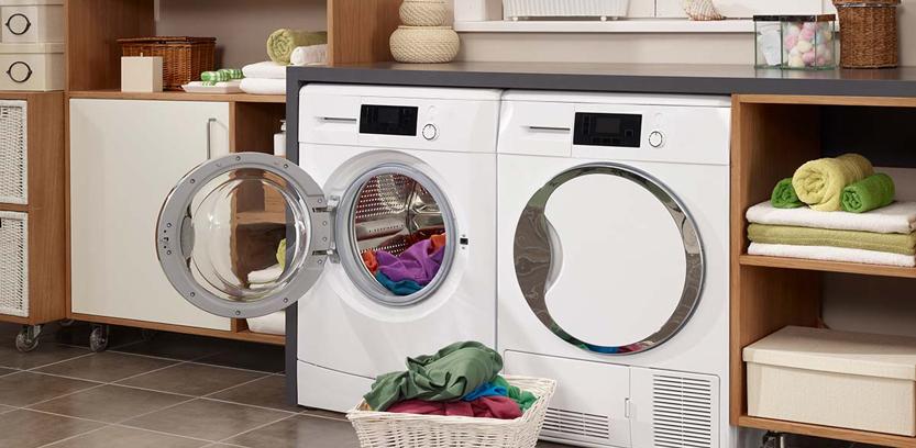 چرا آب داخل لباسشویی جمع می شود