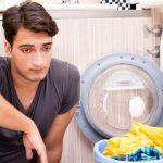 توقف ناگهانی لباسشویی در حین کار