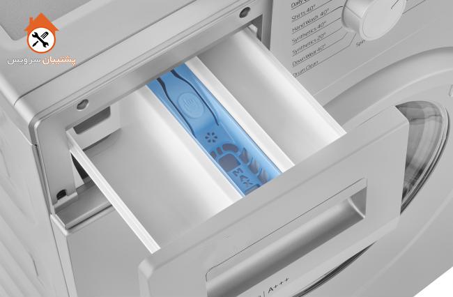 محفظه نرم کننده ماشین لباسشویی