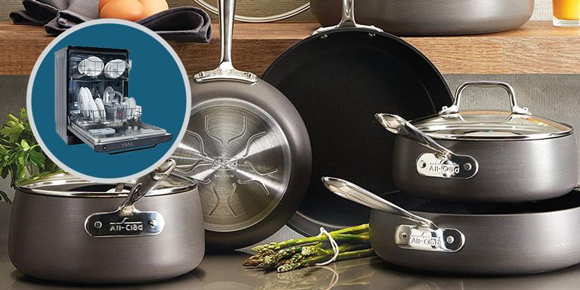 شستشوی ظرف آلمینیومی با ماشین ظرفشویی