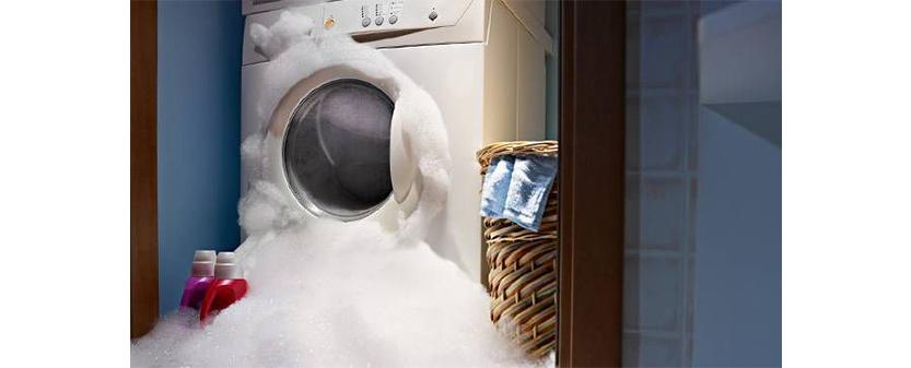 علت کف زیاد ماشین لباسشویی _ دلیل کف نکردن پودر ماشین لباسشویی