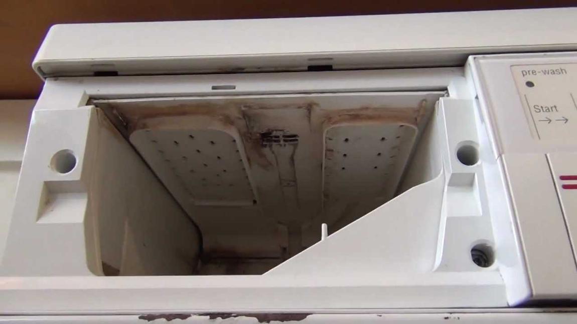 شکستگی جاپودری ماشین لباسشویی