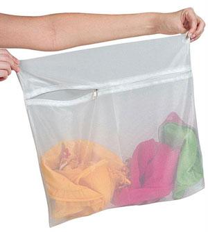 کیسه توری مخصوص شستشو لباس های ظریف در ماشین لباسشویی