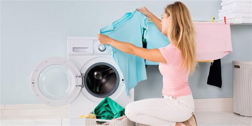 شستشوی لباس های نخی و پنبه ای با ماشین لباسشویی