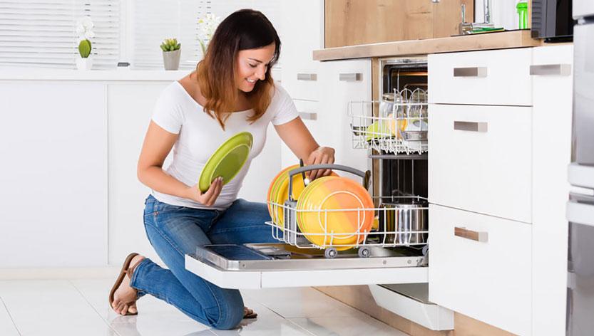 جرم گیری و رسوب زدایی ماشین ظرفشویی
