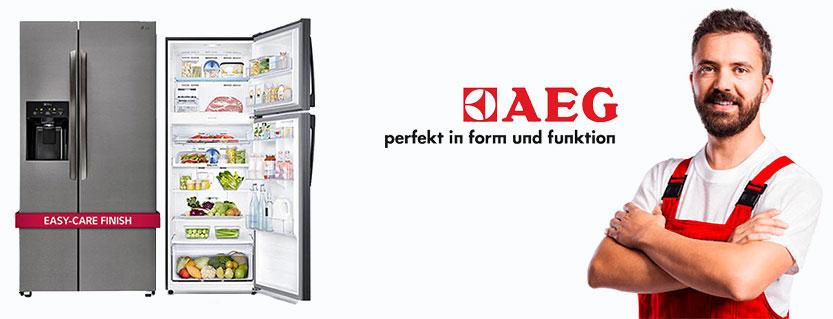 نمایندگی تعمیر یخچال آاگ aeg در تهران خدمات پس از فروش یخچال فریزر ساید بای ساید AEG