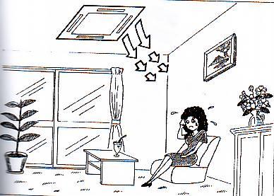 تنظیم دمای مناسب کولر گازی اسپلیت
