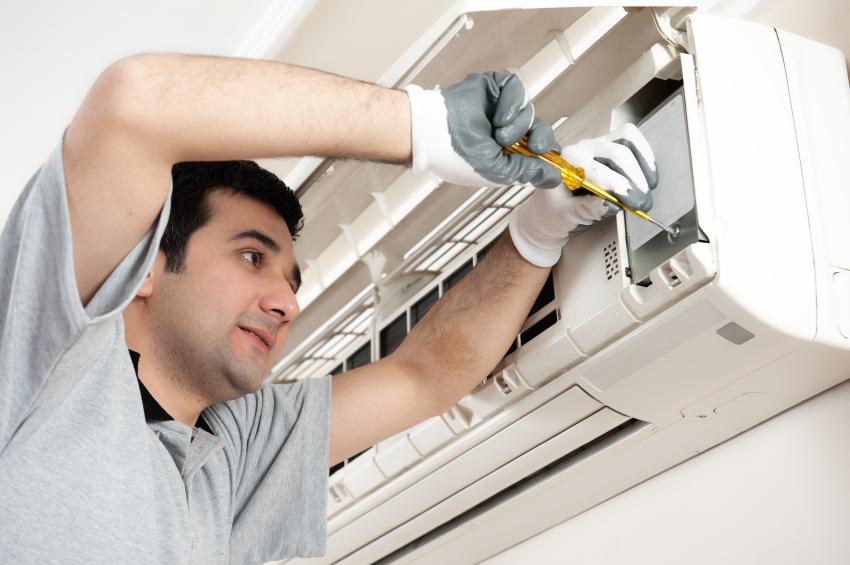بررسی اتصالات در نصب کولر گازی
