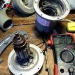 آموزش تعمیر موتور جاروبرقی