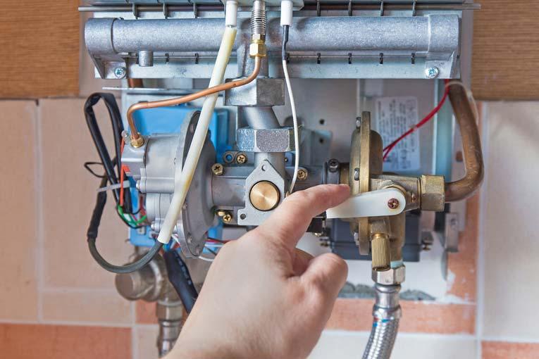 سرویس آبگرمکن پکیج گازی