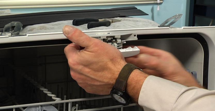 چفت در ماشین ظرفشویی