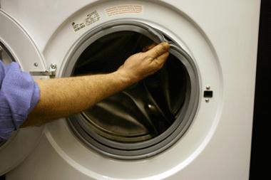 طریقه تعویض لاستیک ماشین لباسشویی