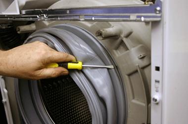 تعویض لاستیک درب لباسشویی