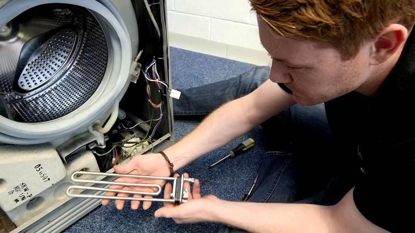 تعویض المنت حرارتی ماشین لباسشویی