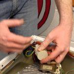 فیلتر برق (نویزگیر) ماشین لباسشویی _آموزش تعمیر لباسشویی