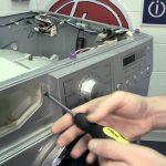 آموزش تعویض محفظهی جا پودری ماشین لباسشویی