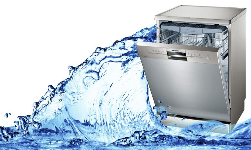 میزان مصرف آب ماشین ظرفشویی