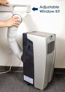 نصب کولر گازی پرتابل قابل حمل