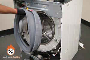 آموزش تعویض بلبرینگ ماشین لباسشویی _ اوارق کردن لباسشویی