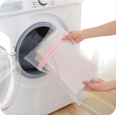 کیسه توری مخصوص شستشو لباس های ظریف و نازک در ماشین لباسشویی