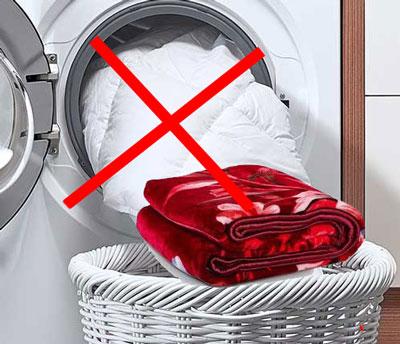 شستن پتو با ماشین لباسشویی