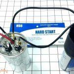 نحوه راه اندازی کمپرسور کولر گازی با خازن شوک