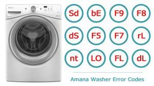 ماشین لباسشویی آمانا