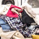 دستهبندی لباسها برای شستشو در ماشین لباسشویی